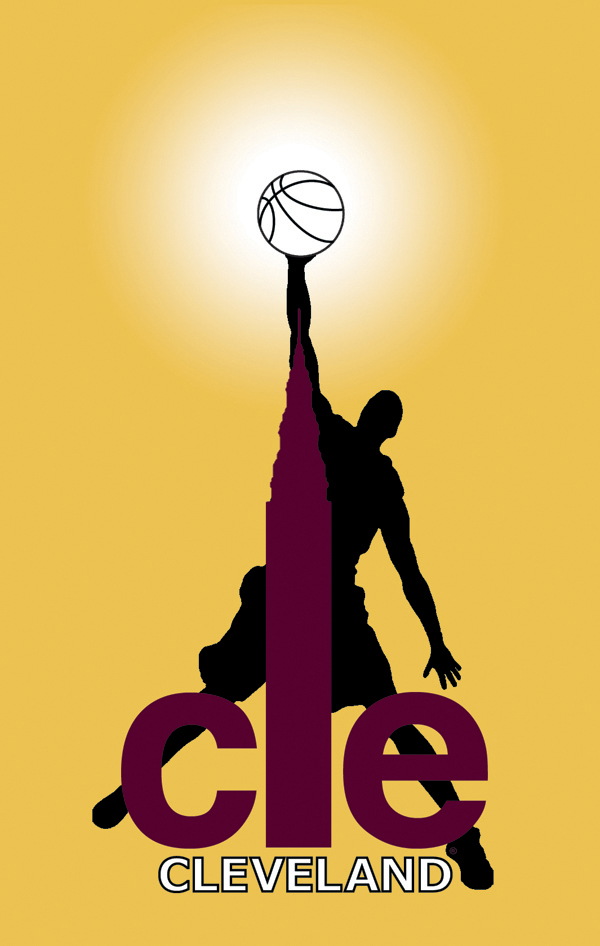 CLE CAVS poster