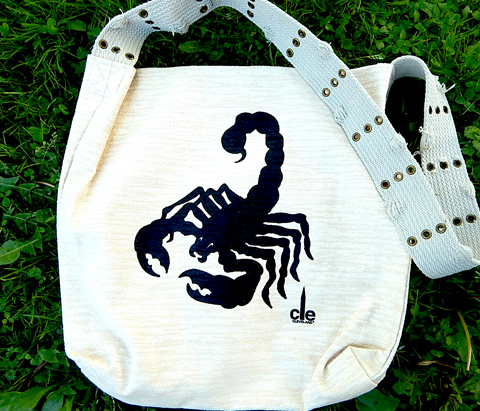 Scorpio_recycled_shopping_bag