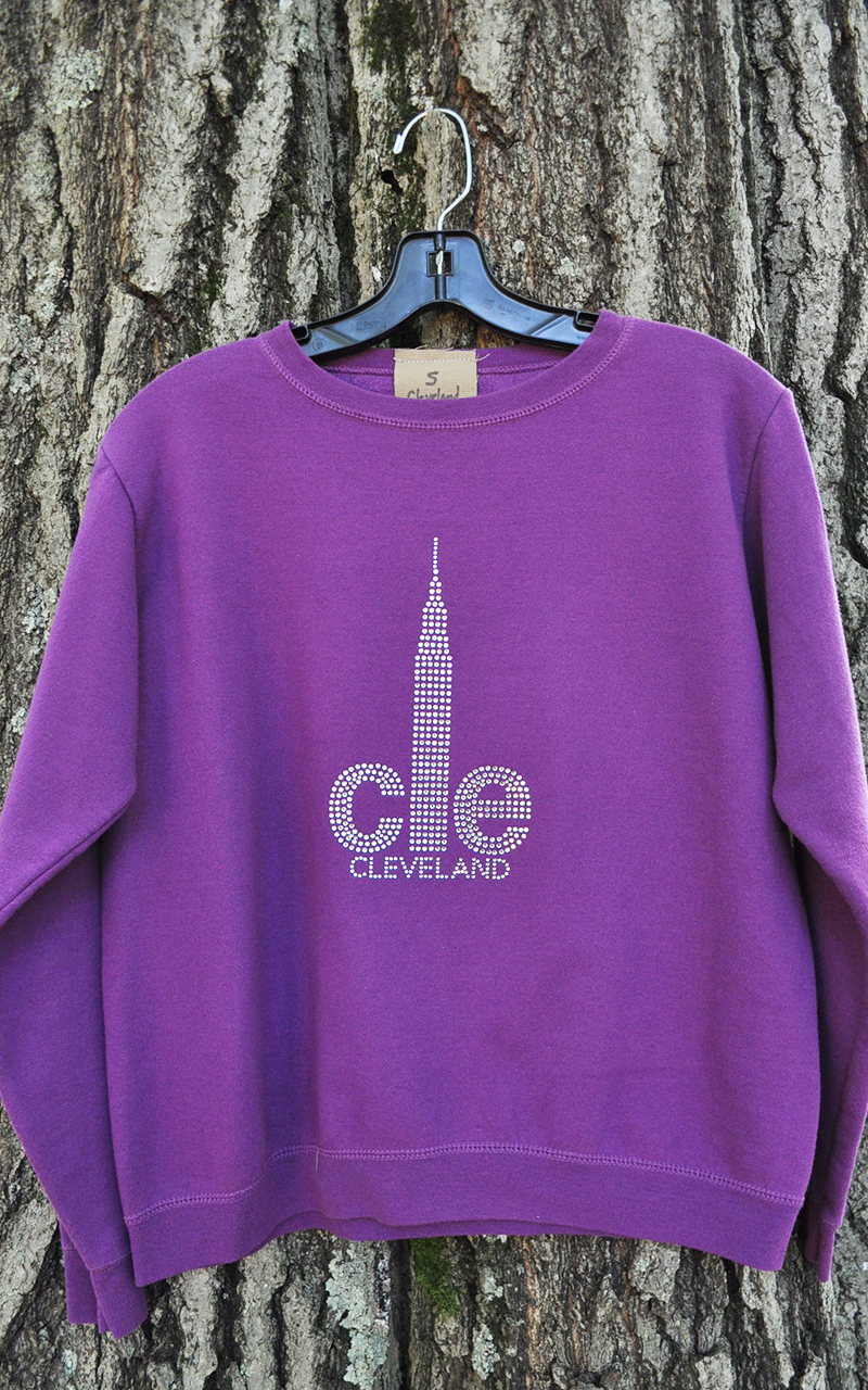 Small CLE Sweatshirt 5002