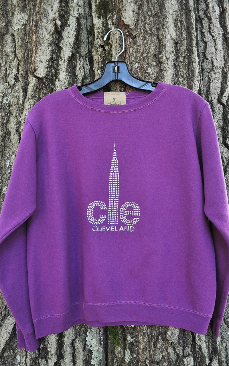 Small CLE Sweatshirt 5002