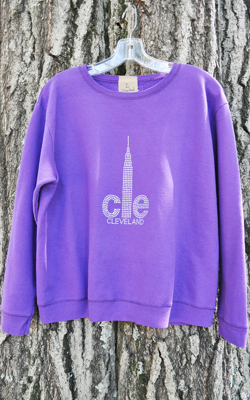 Large CLE sweatshirt 5012
