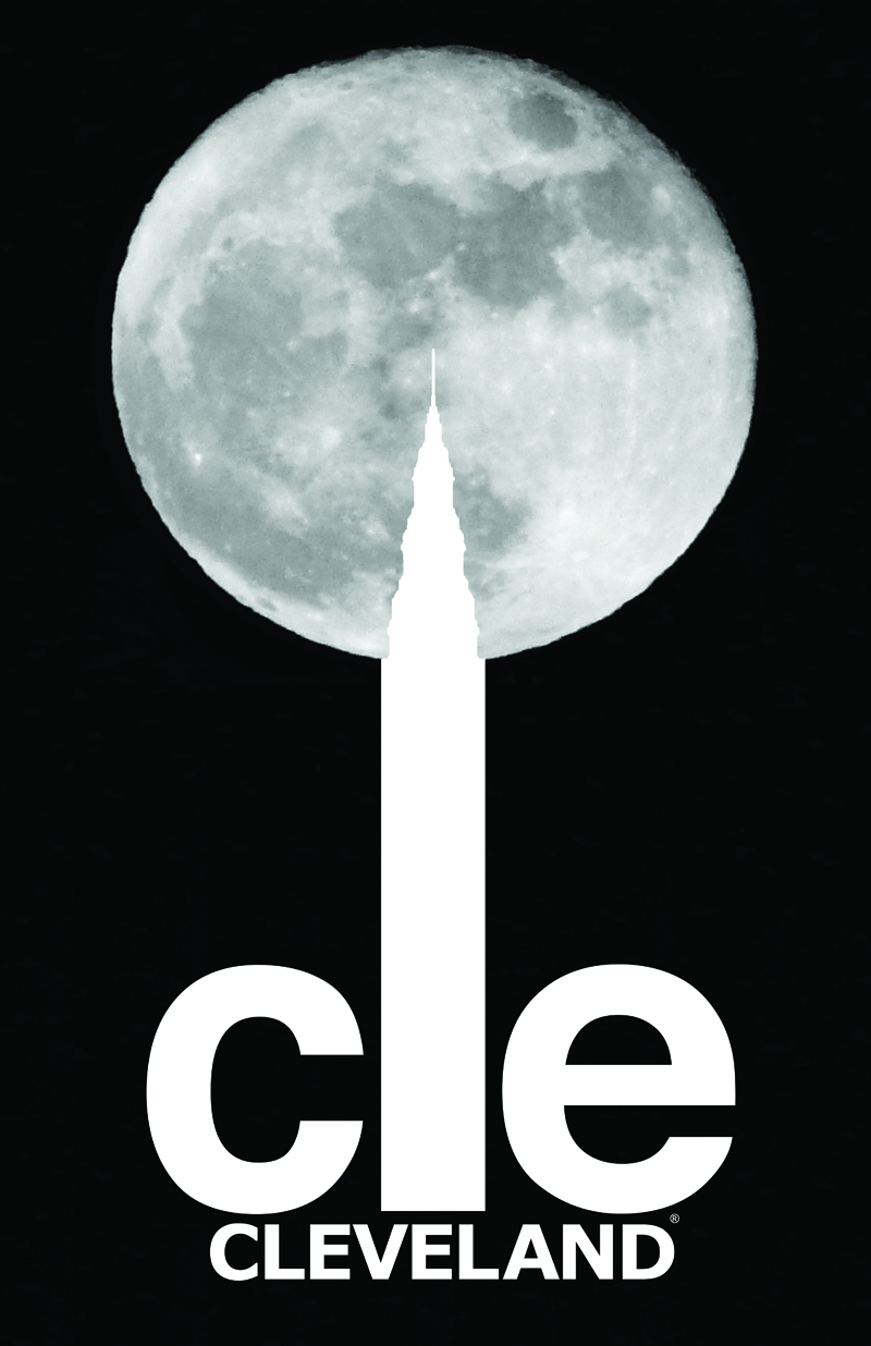 CLE full moon poster