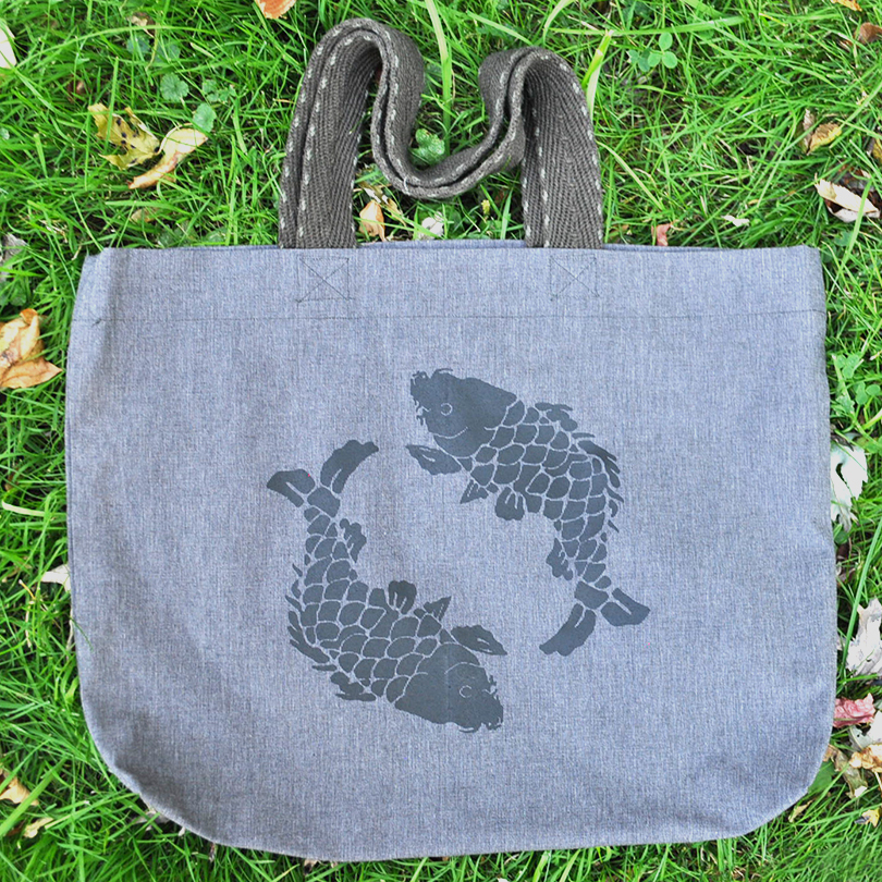 Pisces tote bag 1
