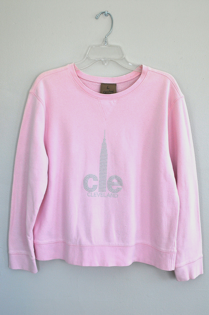 Large CLE sweatshirt 5030