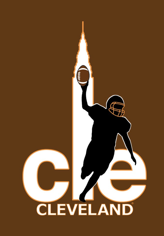 CLE Browns poster